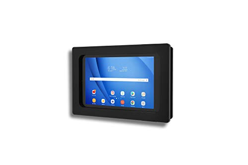 TABcare Security Anti-Theft Acrylic VESA Enclosure for Samsung Galaxy TAB A7 10.4 SM-T500 with Wall Mount Kit (Black, TAB A7 10.4)
