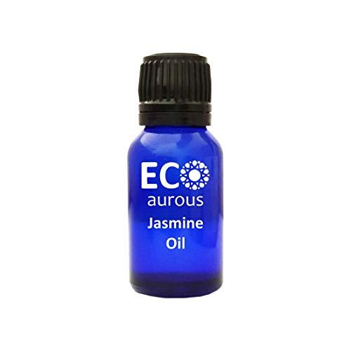 Jasmine Oil 100% Natural, Organic & Vegan Jasmine Essential Oil | Jasmine Absolute Essential Oil | Pure Jasmine Oil By Eco Aurous (10 ml)