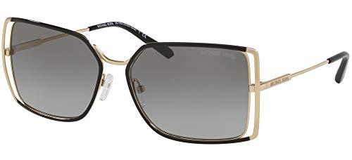 Michael Kors Damen 0MK1053 Sonnenbrille, Brown Peach Gradient, 58