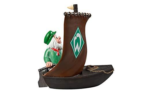 Werder Bremen Gartenzwerg \'Torfkahn\'