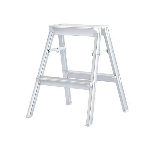 Escabeau d'escalier en métal de ménage Tabouret d'escalier pliant d'escalier en métal Escabeau (Size : 2 step)
