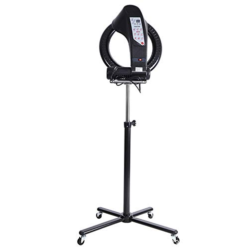 Professionele kappers Styling Equipment, met vier wielen en flexibele arm Infrarood Ir Verwarming Floor Lamp, voor Processor Hair Styling