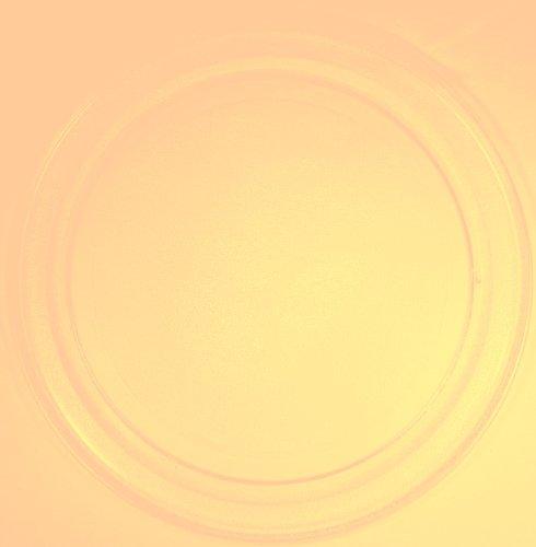 Mikrowellenteller / Drehteller / Glasteller für Mikrowelle # ersetzt Bifinett Mikrowellenteller # Durchmesser Ø 36 cm / 360 mm # Ersatzteller # Ersatzteil für die Mikrowelle # Ersatz-Drehteller # OHNE Drehring # OHNE Drehkreuz # OHNE Mitnehmer
