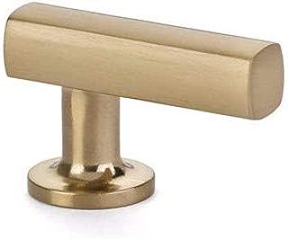 Emtek 86452 Freestone Finger Pull (Satin Brass)