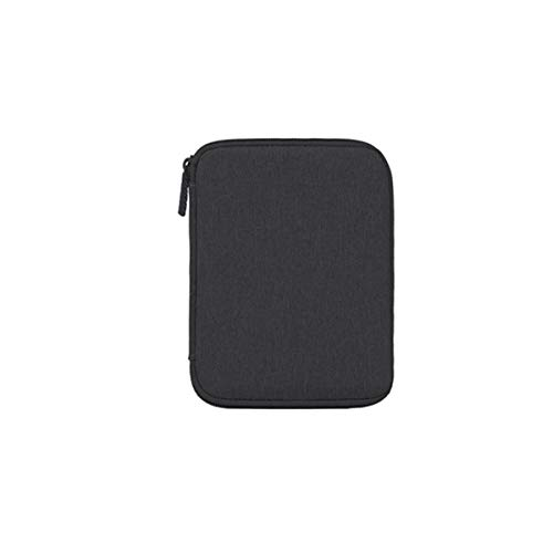 Reise-Monolayer-Kabel Elektronik-Organizer Powerbank-Aufbewahrung schwarz