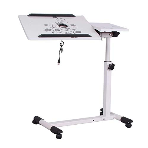 N/Z Tägliche Ausrüstung Laptop-Schreibtische Beweglich Einfaches Design Laptop-Tisch Holz Desktop Höhe Verstellbar Bett Sofa Seite Computer Notebook Laptop Schreibtisch Tisch Eisenrahmen Tisch