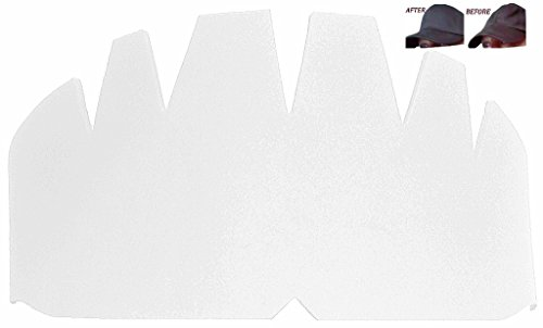 3Pk. White Baseball Caps Crown Inserts| Hat Shaper| Flex Fit Hat Crown Support| Snapback Hat Crown Panel Padding| Fitted Caps Inserts| New Era Insert| Flexible Long Lasting Hat Liner| 1 Free with 3Pk.