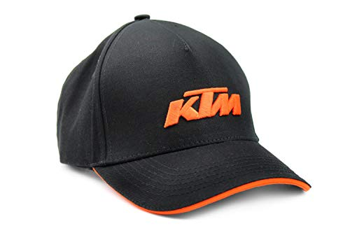 KTM Bike Industries Base Cap schwarz orange