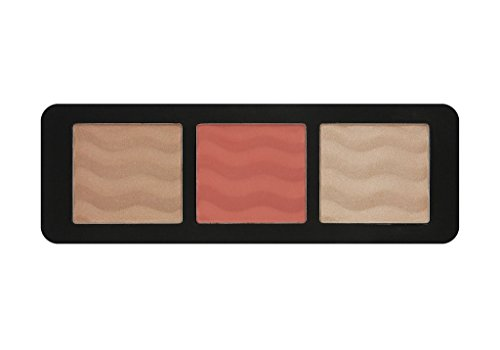 W7 - THE CHEEKY TRIO - Bronceador, colorete e iluminador. 100 % original de W7