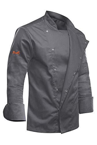 strongAnt - Giacca Cuoco Uomo Manica Lunga, Giacche da Chef PIZZAIOLO, Ristorante, ristorazione Pizzeria...