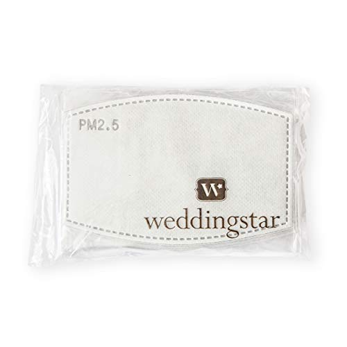 Weddingstar PM 2.5 Protective Mask Filters 5-layer Carbon Technology - 10 pack