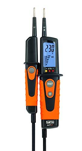 HT-Instruments HT7 Digitaler Spannungsprüfer, mit Lastzuschaltung, 0V bis 690V AC/DC, CAT IV 600V