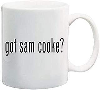 Stainless Steel Mug Got Sam Cooke? Coffee Mug 11 Oz Singer, Artist Photo Coffee Mugs, 11 oz, White