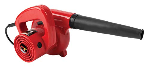 PERFORMANCE TOOL Herramienta de Rendimiento, Rojo, 600W Single Speed Garage/Shop Blower
