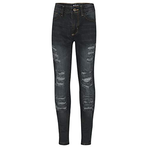 A2Z 4 Kids A2Z 4 Kids Kinder Mädchen Dünn Jeans Designer Denim - Girls Jeans JN28 Black 13