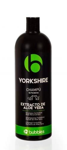 Unbekannt Bubbles Yorkshire Champú para perros con variante de aloe vera (volumen), botella de 1 litro