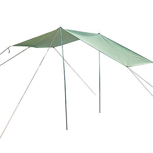 Tienda de techo de toldos de toldos del lado del automóvil para la tienda de carpa para el automóvil para descansar el toldo del coche a prueba de agua que acampa la tienda de campaña del tejado de la