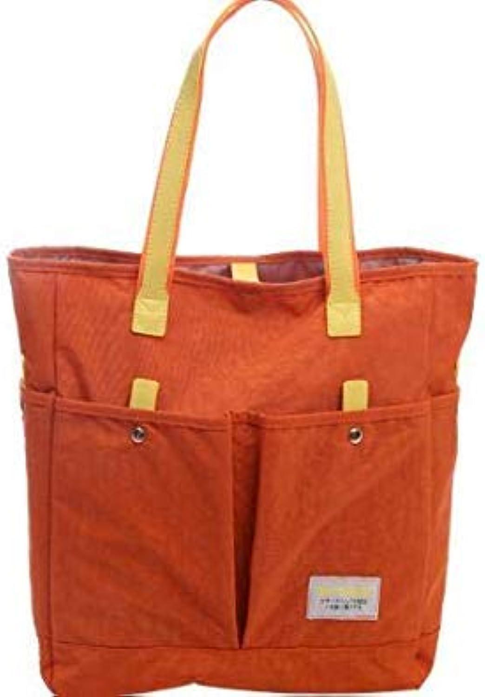 Bloomerang Vintage Women Handbag Large Capacity Crossbody Bag Leisure Tote New Fashion Ladies Crossbody Purple Bags Nylon Handbags Fashion color orange