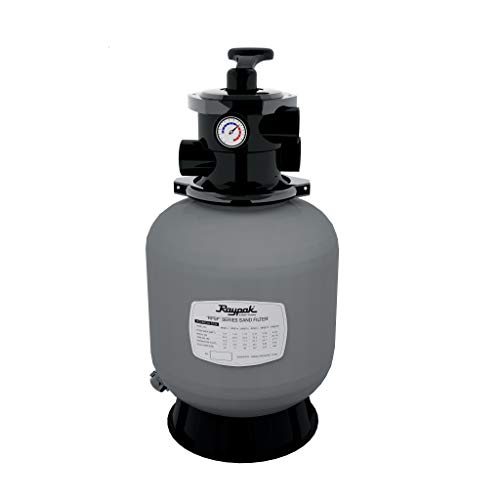 Raypak Protege SF 25' Top Mount Above Ground Pool Sand Filter Tank