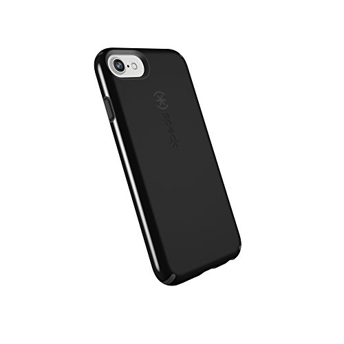 Speck Products CandyShell Cell Phone Case for iPhone 8 (Also fits 7/6S/6) - Black/Slate Grey
