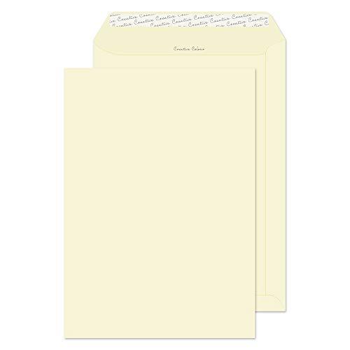 creative Colour C4324x 229MM 120gsm Pocket Peel and Seal–Clotted Cream (confezione da 10)