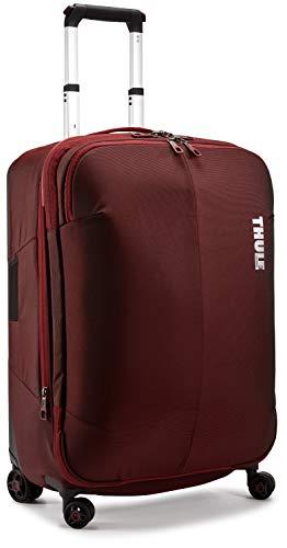 Thule Subterra da 63 litri Valigia da viaggio (superficie morbida, trolley, girevole portatile, 4 ruote, 63 cm) Rosso