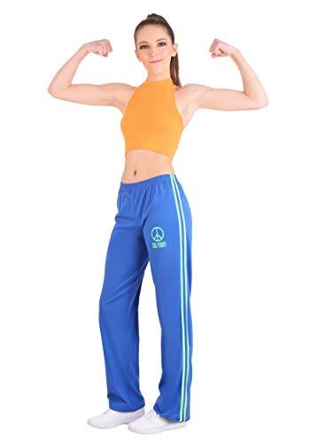 Athletic Girl Power Popstar - Disfraz para mujer - Naranja - S