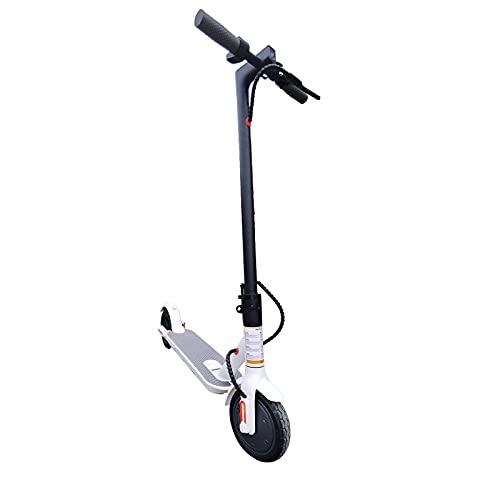 MKKYDFDJ hasta 25km/H,Carga Máxima 120kg Scooter De Aluminio,Plegable Rápido E-Scooter,Peso Ligero Portátil...