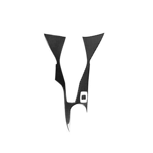 Carbon fibre tape Carbon Fiber Central Control Gear Box Decorative Panel Interior Modification Sticker Accessories, Fit for Chevrolet Camaro 2017-2019