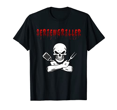 Barbacoa de serie, barbacoa para amigos o fiestas. Camiseta