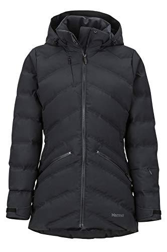 Marmot Damen Hardshell Ski- Und Snowboard Jacke, Winddicht, Wasserdicht, Atmungsaktiv Wm's Val D'Sere, Black, XL, 79240