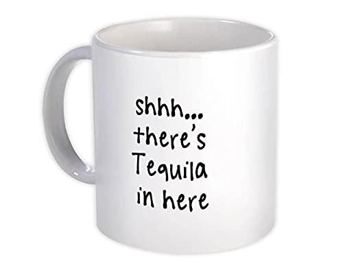 Shhh, hay tequila aquí : Regalo Jarra : Citar Drink Bar Gracioso Irreverente