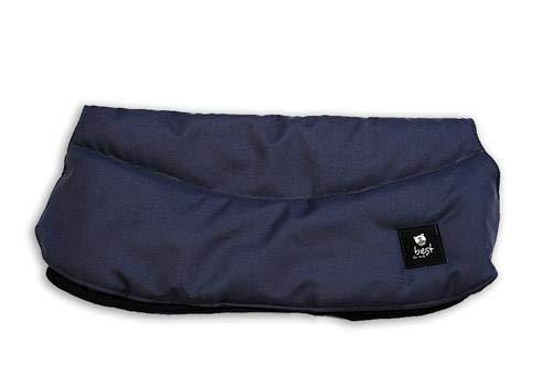 Best For Kids Handwärmer für Kinderwagen Muff Kinderwagenhandschuh Universalgröße 13 Farben (Marineblau)