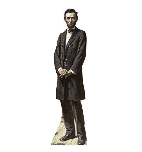 Advanced Graphics President Abraham Lincoln Life Size Cardboard Cutout Standup - The Gettysburg Address