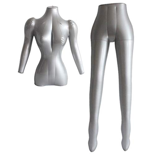 VANKOA PVC Aufblasbare Erwachsene Weibliche Schaufensterpuppe Display Dummy