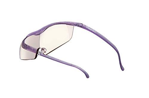 Hazuki ハズキルーペ 直営店 公式店 限定 倍率交換保証付き ラージ 1.6倍 カラーレンズ ニューパープル ハズキ 拡大鏡 ルーペ メガネ型 眼鏡型 めがね型 メガネ 眼鏡 めがね 日本製 MADE IN JAPAN ギフト