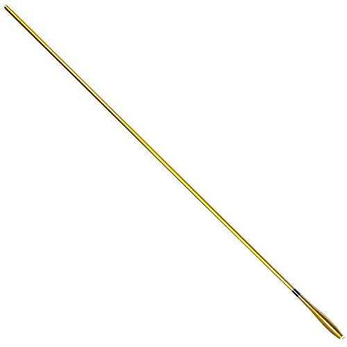 Wellvie へら竿 18尺 ヘラブナ 竿 振出 5.4m カーボン 高弾性 軽量 細身 ヘラ竿 ゴールド/金色 ハイカーボン釣竿 淡水竿