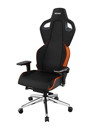 RECARO Exo FX Gaming Chair – Ergonomischer, höhenverstellbarer Stuhl für Gamer mit 5D-Armlehne – Sunset Orange