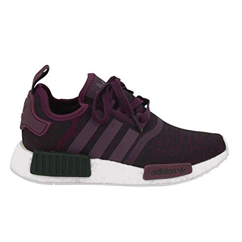 Womens Adidas Originals NMD_R1 Trainers in Purple/red Night.