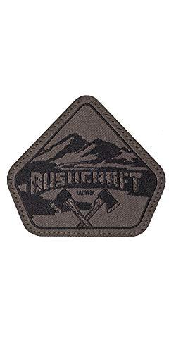 TACWRK Bushcraft Patch Gewebt Outdoor Survival Aufnäher Fun Morale Patch, Oliv