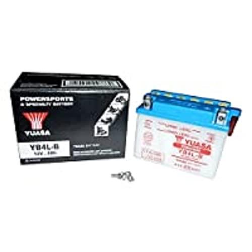 Yuasa YB4L-B Yumicron Batería, 12V, 120mm x 70mm x 92mm