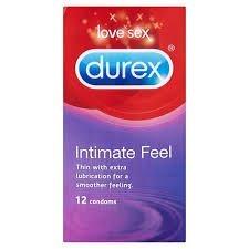 Durex Preservativos Intimate Feel 12s- 3unidades