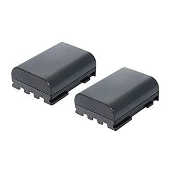 Bonadget NB-2L NB-2LH Battery 2 Pack Replacement Battery Compatible with Canon PowerShot G7 G9 S70 S80 S60 S50 S30 S40 S45 DC410 DC420 EOS 400D 350D R10 Digital Rebel XTI XT VIXIA HF Camera