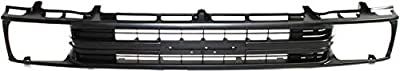 Grille Assembly Compatible with Toyota Pickup 1989-1991 Painted-Black 1-Piece Type 2WD