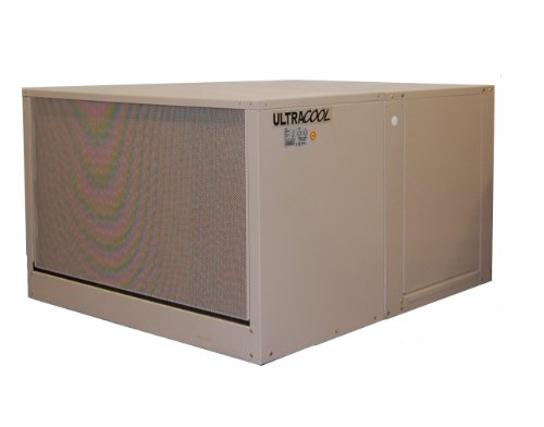 MasterCool AD1C7112 Down-Draft Evaporative Cooler with 2,300 Square Foot Cooling, 7,000 CFM