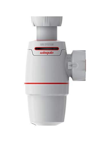 Wirquin–Sifón de lavabo Neo Air de Wirquin diámetro 32mm anti-fuite Válvula antivacío