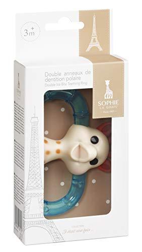 Vulli 010315 dubbele polijstring Sophie la Girafe, groen