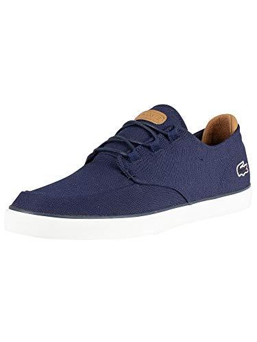 Lacoste Herren Esparre Deck 119 3 CMA Sneaker, Blau (NVY/Lt BRW 4c1), 39.5 EU
