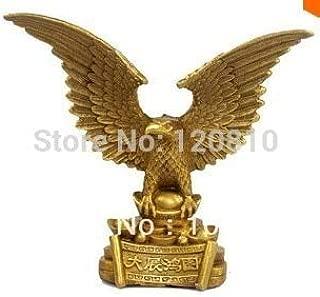 Garlic. Eagle Wings Eagle Bronze Statue