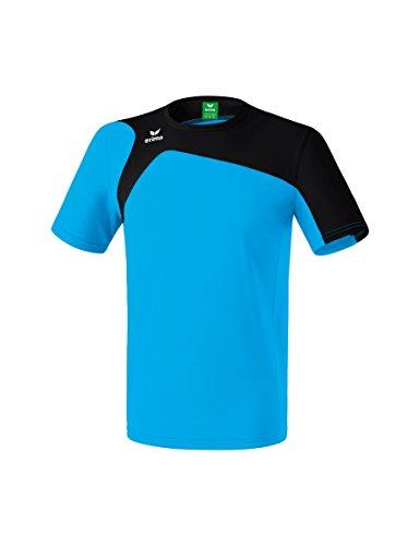 Erima Kinder CLUB 1900 2.0 T-Shirt, curacao/Schwarz, 140
